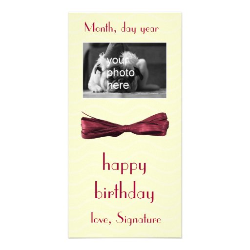 gift card all occasions custom photo card