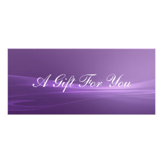 Gift Certificate Personalized Rack Card