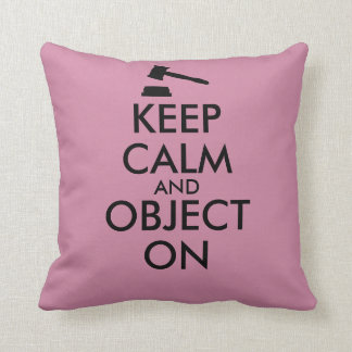 Gift for Lawyer Attorney Judge Law Student or Prof Throw Cushions