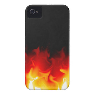 Gift from Hell in fire iPhone 4 Cases