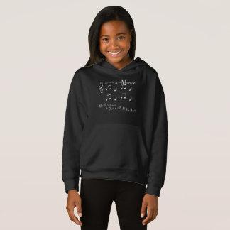 Gift Girl's Dark Hoodie