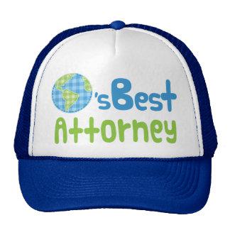 Gift Idea For Attorney (Worlds Best) Cap