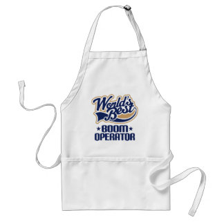 Gift Idea For Boom Operator (Worlds Best) Standard Apron