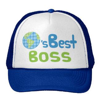 Gift Idea For Boss (Worlds Best) Cap