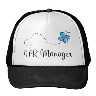 Gift Idea For Hr Manager (Butterfly) Cap