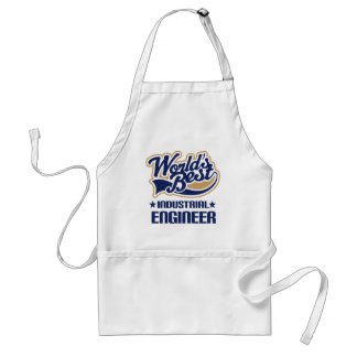 Gift Idea For Industrial Engineer (Worlds Best) Standard Apron