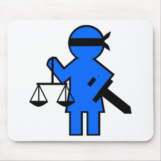 Gift idea for lawyer mouse mat