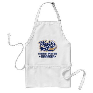 Gift Idea For Transport Operations Manager Aprons