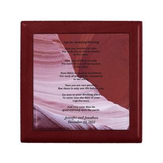 Gift/Jewelry Box, Apache Wedding Blessing Canyon Gift Box