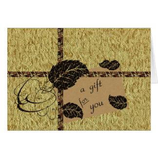 Gift Money Enclosure Card
