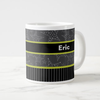 Gift Mug for Him, Personalized Name mug, Gray
