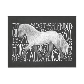 Gift of a Horse Print