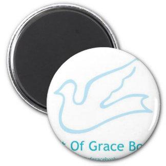 Gift of Grace Books 6 Cm Round Magnet