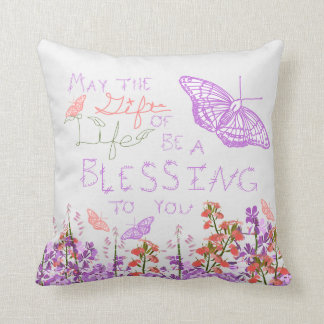 Gift of Life butterfly Cushion