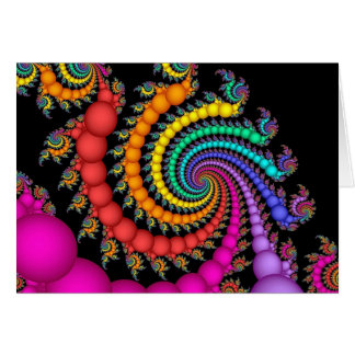 Gift of Pearls Rainbow Gay Pride Greeting Card