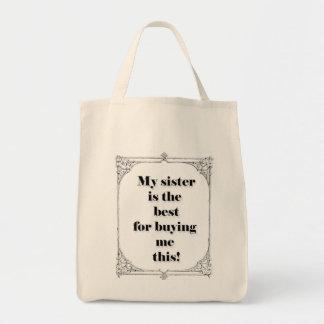 Gift Organic Grocery Tote Bag