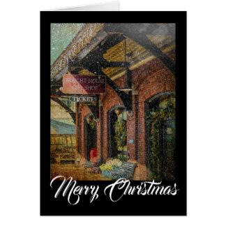 Gift Shop Christmas Notecard
