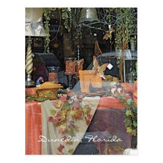 Gift Shop Window - Dunedin Postcard