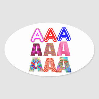 GIFT someone an Aaa Grade: Acknowledge ACHIEVEMENT Sticker