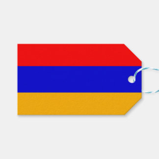 Gift Tag with Flag of Armenia
