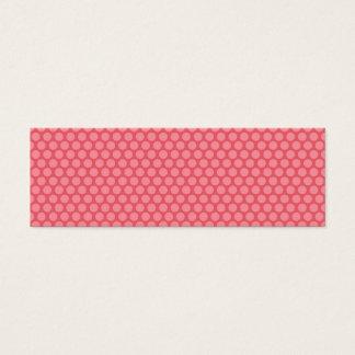 Gift Tag with pink polka dots