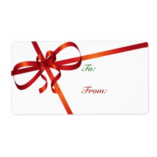 Gift Tags For Christmas Gifts Shipping Label