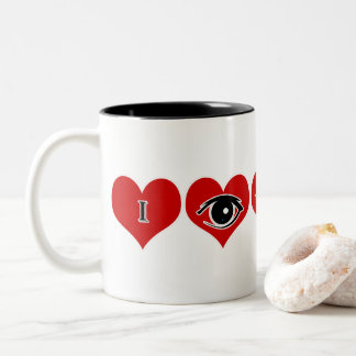 """Gift this Valentine's Special Mug """" I see you"""""""