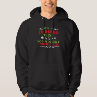 Gift Tshirt For CLAUDIO