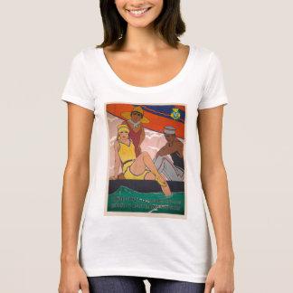 Gift Vintage Cadiz Poster Tourism T-Shirt