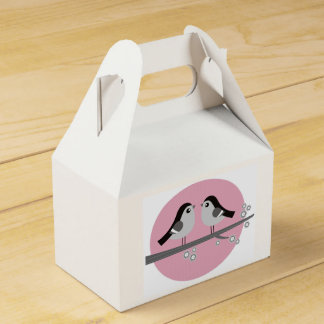 Gift wedding box with Love birds Party Favour Boxes