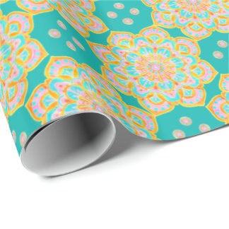 Gift Wrap, beautiful sends it Wrapping Paper