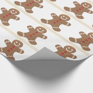 Gift Wrap Gingerbread Man, Sweet Cookie Fun!