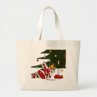 Gift Wrapped Cats Bag