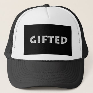 Gifted concept. trucker hat