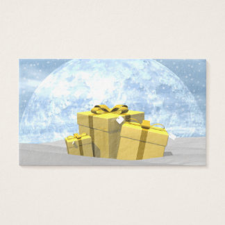 Gifts - 3D render Business Card