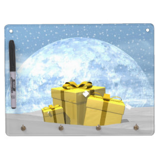 Gifts - 3D render Dry Erase Board With Key Ring Holder