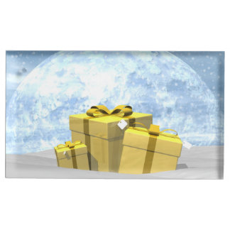 Gifts - 3D render Table Card Holder