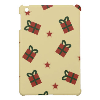 Gifts and stars pattern iPad mini cases