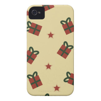 Gifts and stars pattern iPhone 4 Case-Mate case
