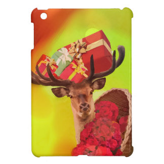 Gifts flowers and deer. iPad mini cases