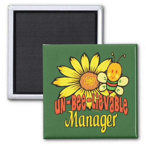 Gifts For Bosses Square Magnet