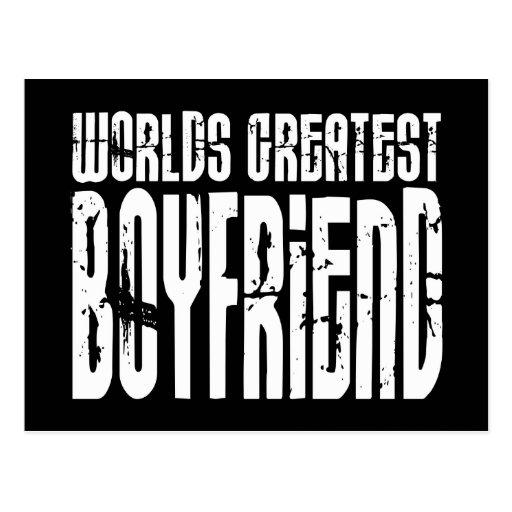Gifts for Boyfriends : World's Greatest Boyfriend Postcards