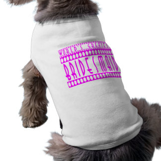 Gifts for Bridesmaids  World's Greatest Bridesmaid Doggie T-shirt