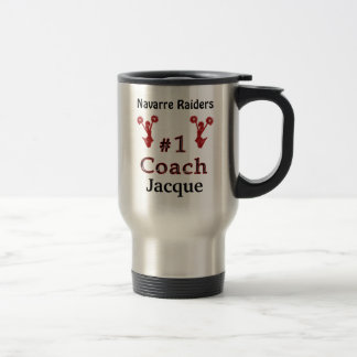 Gifts for Cheerleading Coaches PERSONALIZED Travel Mug