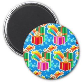 Gifts for Christmas - Fridge Magnet