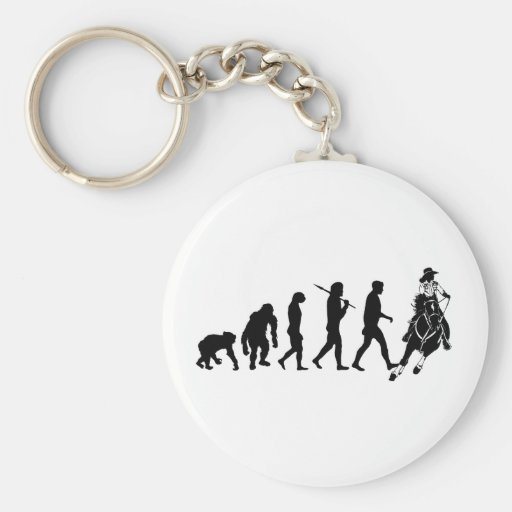 Gifts for cowgirls and ranchers basic round button key ring