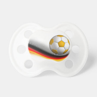 Gifts for German Football Soccer Lovers Baby Pacifier