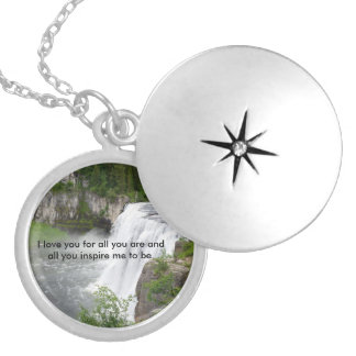 Gifts for Her Silver Plated Necklace