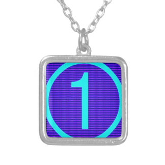 Gifts for Leaders Winners Topper Champions KIDS 99 Square Pendant Necklace