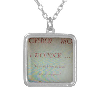 Gifts For Moms Silver Plated Necklace